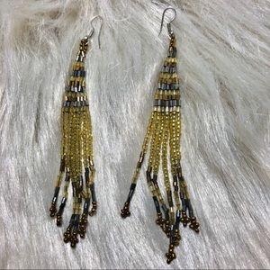 Light Colorado Topaz Bead Earrings
